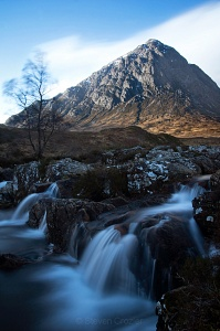 The Buachaille from the river Coupall