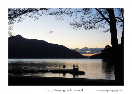 Early morning Loch Lomond