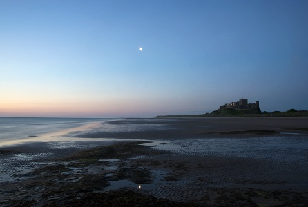 Dawn at Bamburgh