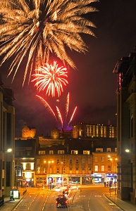 Edinburgh Tattoo Fireworks