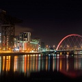 The Clyde at Night