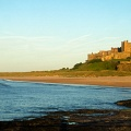 Evening light at Bamburgh