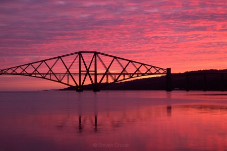Forth Bridge sunrise