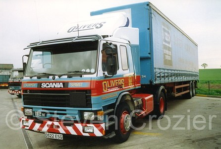 Olivers Transport - Eccles