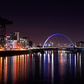 Clyde colours at night